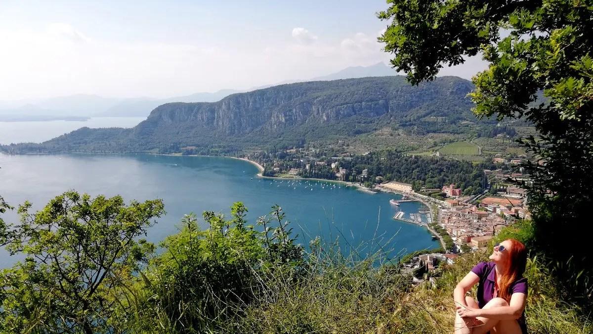 Rocca di Garda percorso trekking panoramico