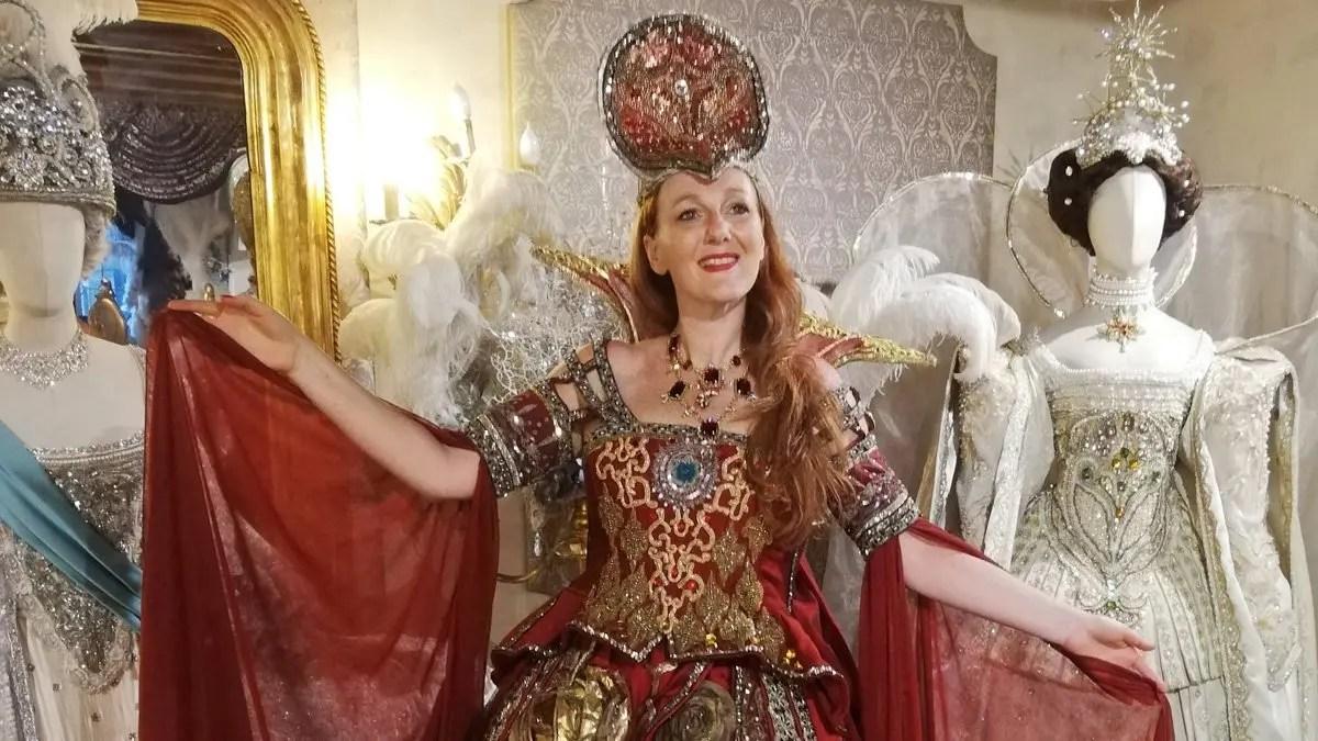 Roberta Ferrazzi in Antonia Sautter: i costumi de Il Ballo del Doge