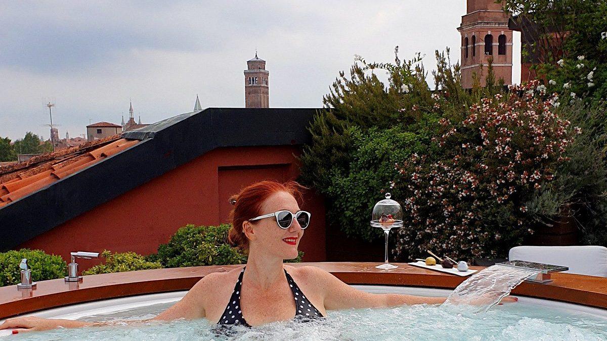 Hotel Papadopoli Venezia suite con Jacuzzi