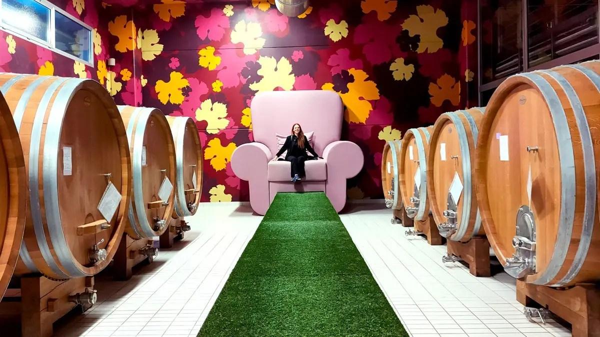 L'Astemia Pentita, la cantina POP di Sandra Vezza a Barolo: la visita, i vini e la degustazione nelle Langhe