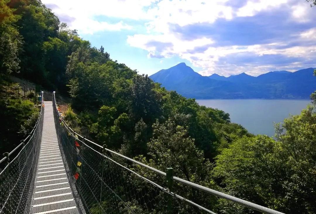 Ponte Tibetano a Torri del Benaco, Lago di Garda