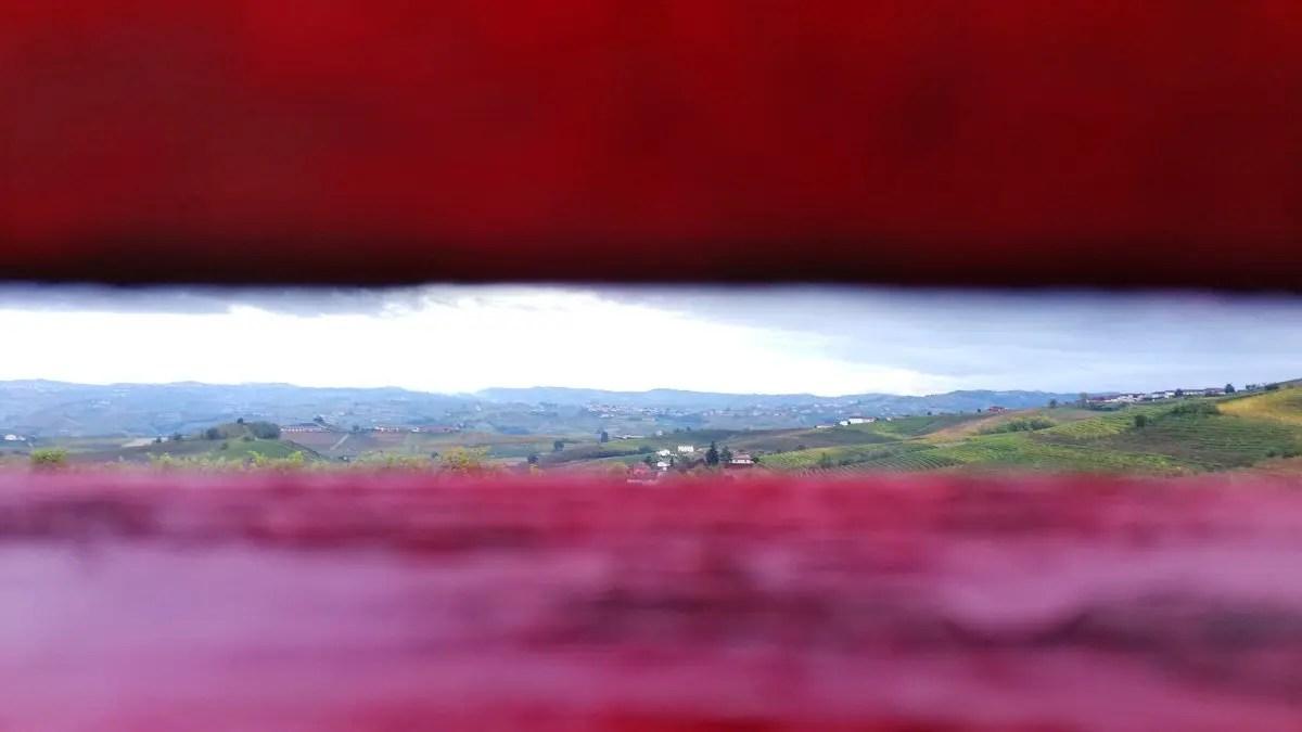 Panchine giganti nelle Langhe in Piemonte