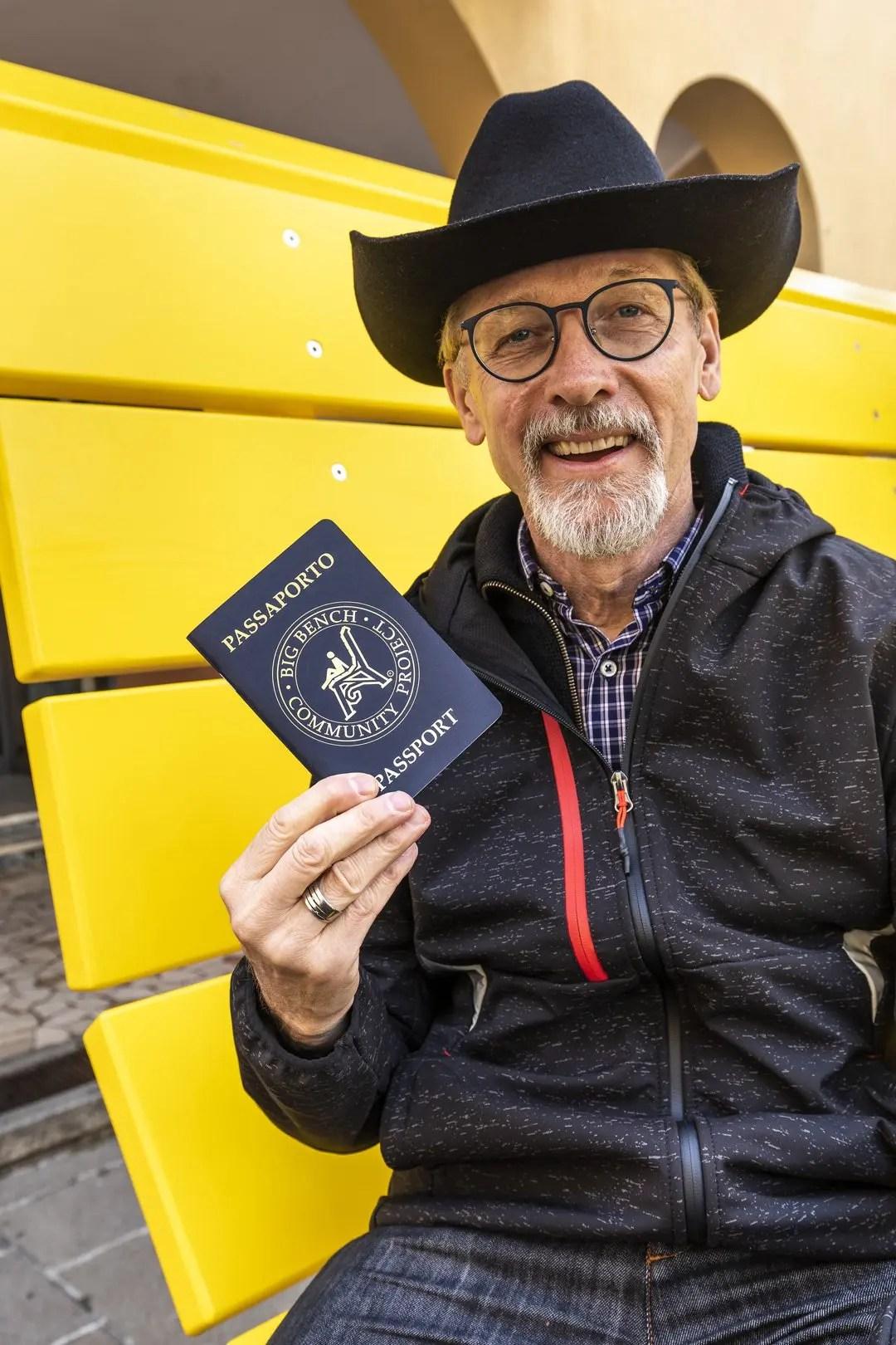 Panchine Giganti passaporto