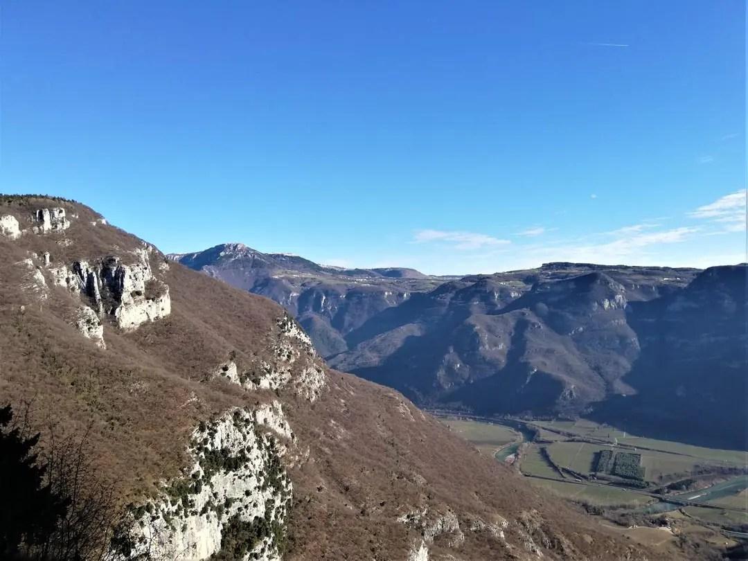 Santuario Madonna della Corona: trekking Sentiero della Speranza
