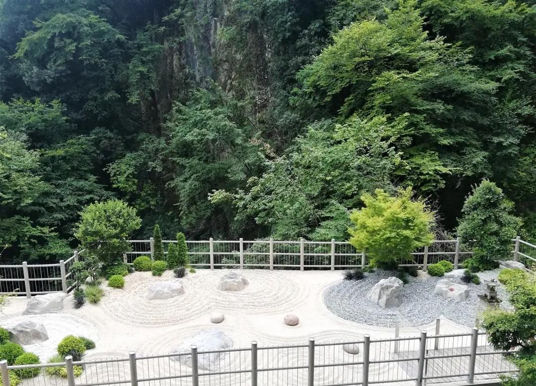 Cascate del Varone a Tenno sul Lago di Garda: il giardino zen