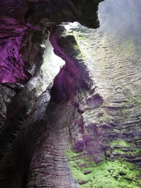 Cascate del Varone a Tenno sul Lago di Garda: cascata inferiore