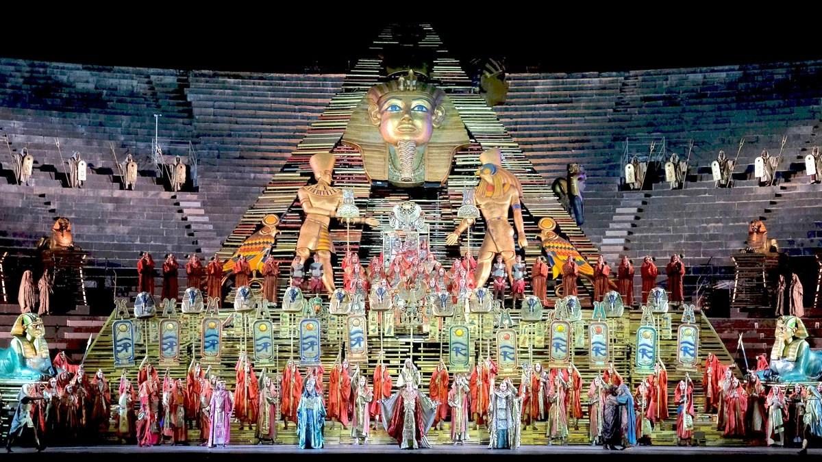 You are currently viewing Aida di Giuseppe Verdi dal 1913 all'Arena Opera Festival di Verona