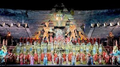 Read more about the article Aida di Giuseppe Verdi dal 1913 all'Arena Opera Festival di Verona
