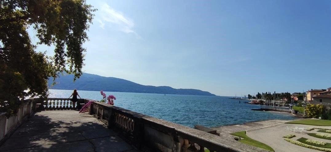 Roberta Ferrazzi blogger del Lago di Garda in visita a Villa Bettoni a Gargnano