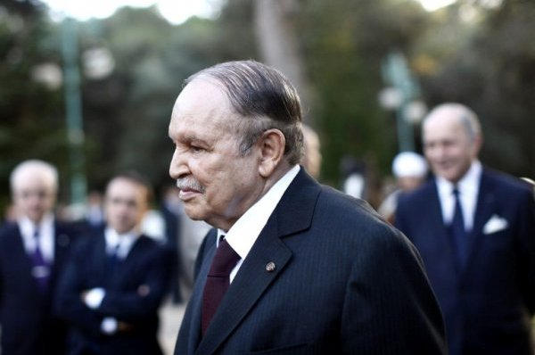 Le président algérien Abdelaziz Bouteflika. AFP Photo