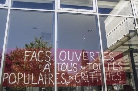 Université de Paris 10 Nanterre. YANN CASTANIER / HANS LUCAS / AFP