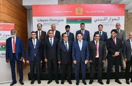 Les délégations du Haut Conseil d'État libyen et du Parlement de Tobrouk se rencontrent, dimanche 27 septembre au Maroc.