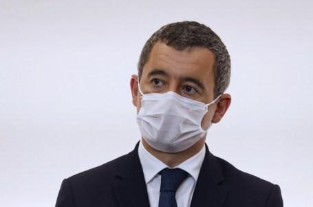 Gérald Darmanin compte dissoudre le Collectif contre l'islamophobie en France et l'association Baraka City après la décapitation d'un professeur à Conflans-Sainte-Honorine (78), le 16 octobre 2020.