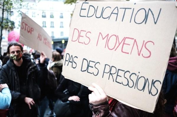 Education nationale : les enseignants veulent plus de moyens
