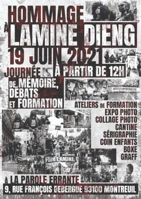 Journée d'hommage à Lamine Dieng
