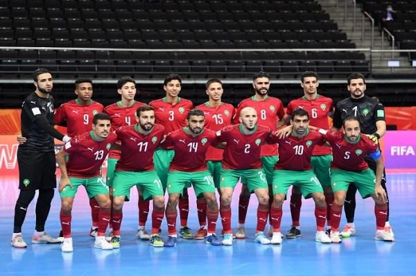 Coupe du monde de futsal. Le Maroc qualifié pour les huitièmes de finale