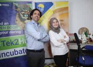Amira Irmal et Karim Brouri