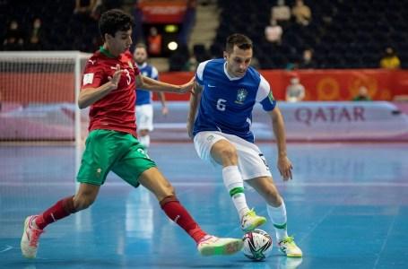 Mondial de futsal. Le Maroc éliminé en quart de finale par le Brésil