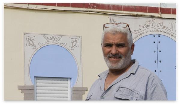 Montpellier : l'artiste Slimane Kouidri crée un minaret en trompe l'oeil
