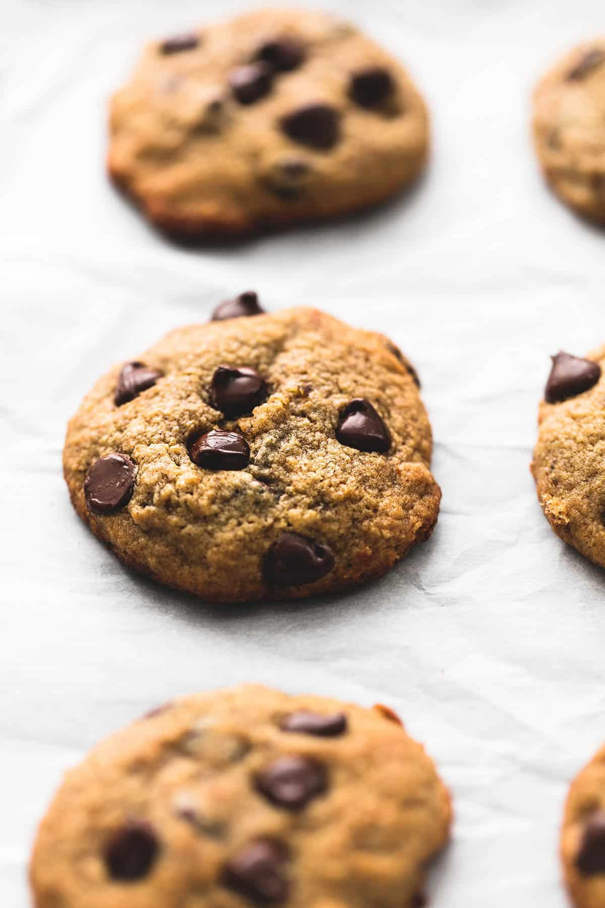 BEST Ever Banana Chocolate Chip Cookies   lecremedelacrumb.com