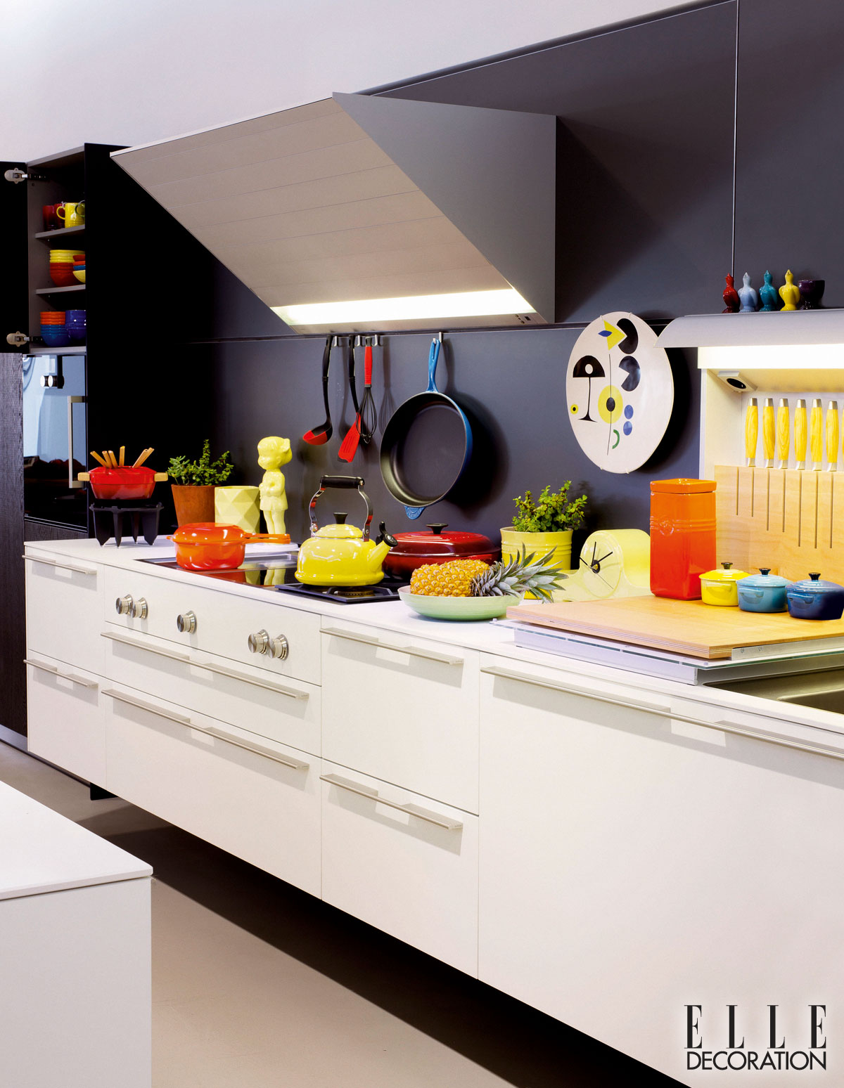 Kitchen Decor Blue