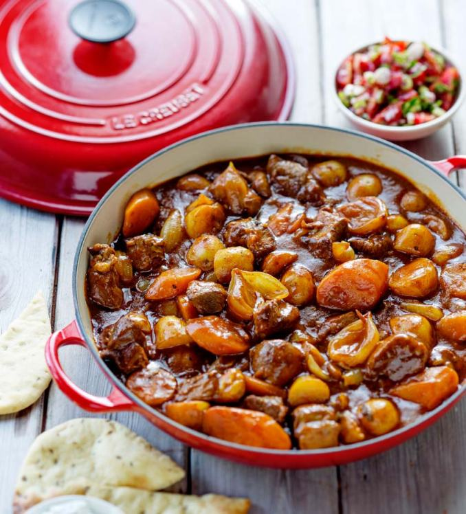 Lamb Curry with Naan Bread - Le Creuset Recipes