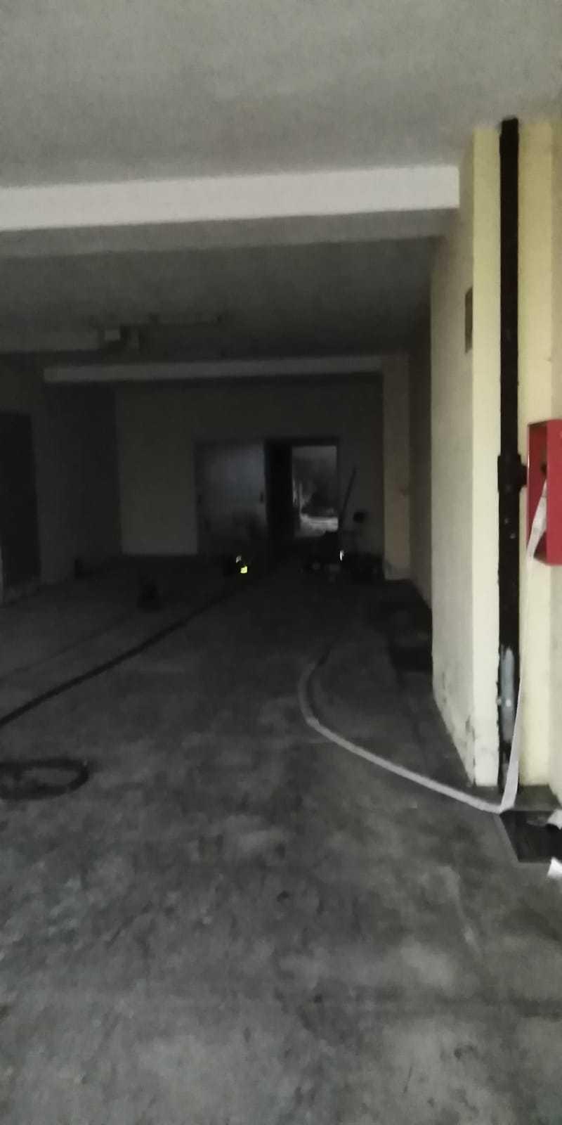 Incendio Berardi melfi