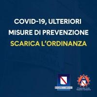 Regione Campania Ordinanza numero 82 a firma Vincenzo De Luca
