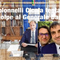 I COLONNELLI CICALA TENTANO IL GOLPE AL GENERALE BARDI