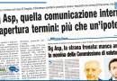 DG ASP, QUELLA COMUNICAZIONE INTERNA RIAPERTURA TERMINI: PIÙ CHE UN'IPOTESI