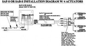 Wiring Diagram  Flat Rocker Switch (SAFS, SAFNS, SFS