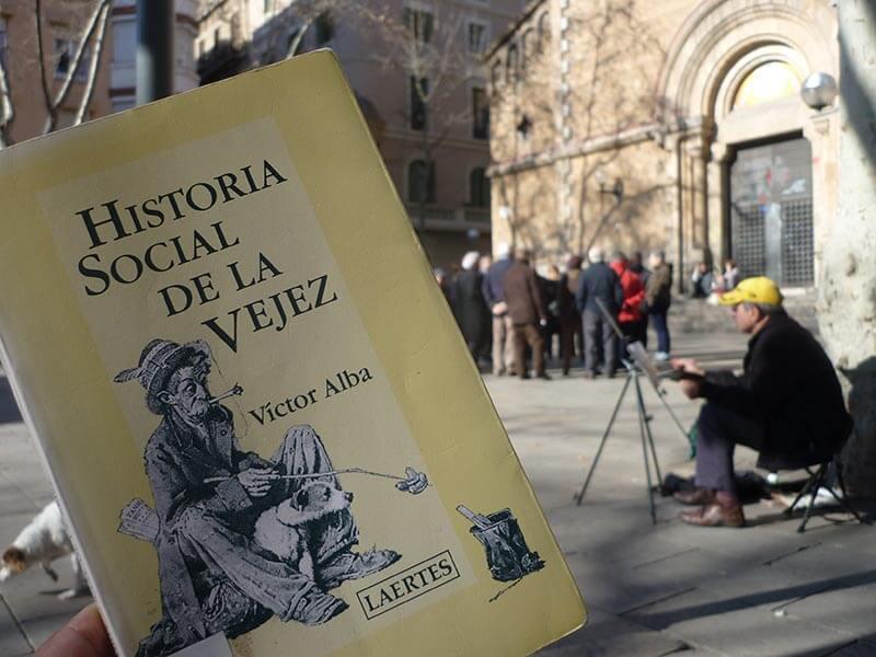 Historia Social de la Vejez: gran libro sobre la vejez por Victor Alba