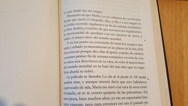 Fragmento del libro premiado de Luis Noriega