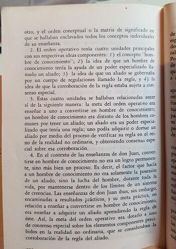 análisis hombre de conocimiento - Carlos Castaneda