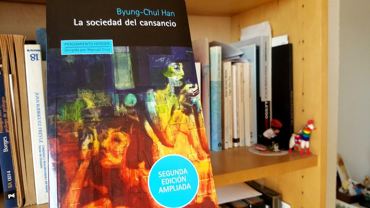 Libro filosofía La sociedad del consumo - Byung Chul Han