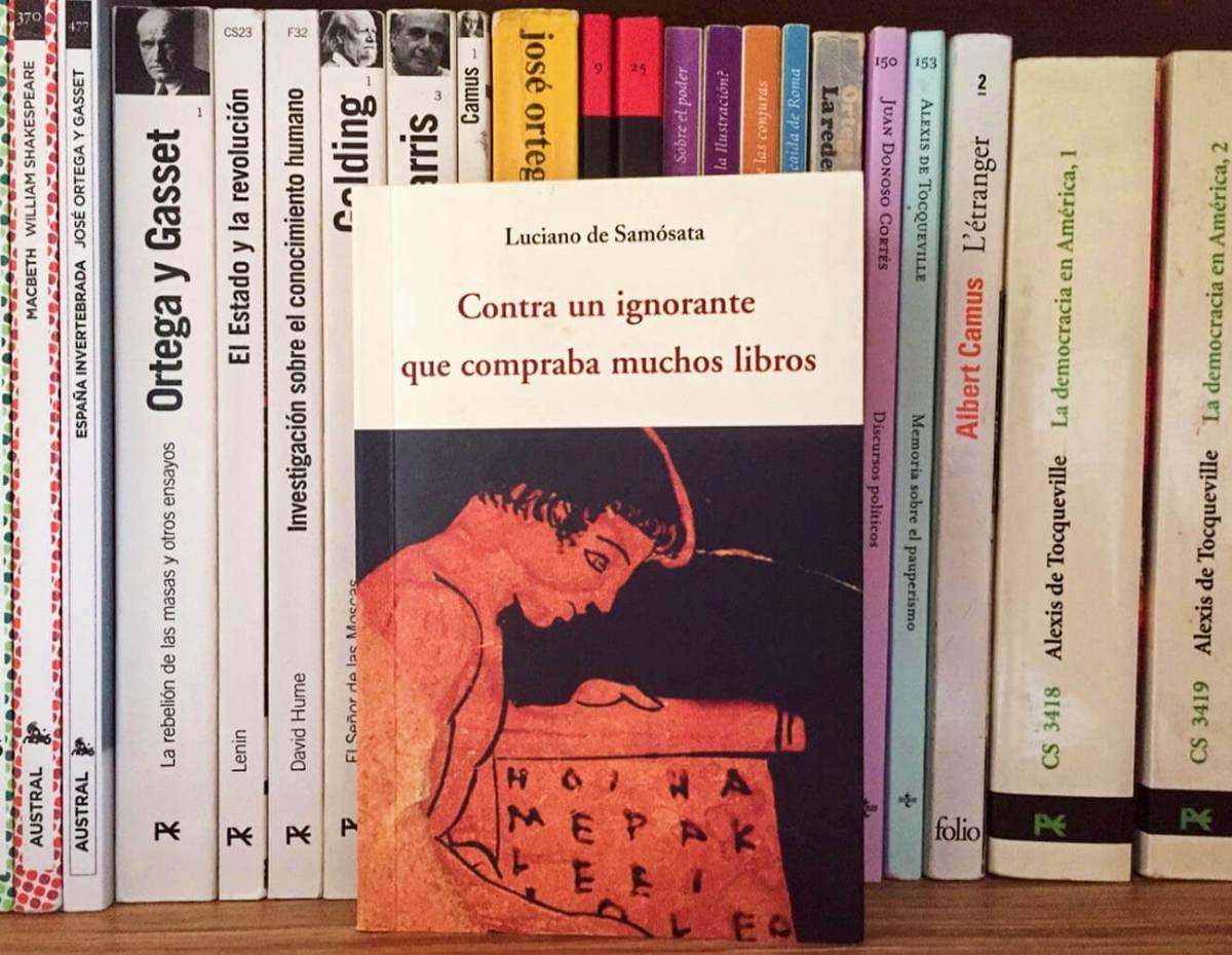 Reseña Contra un ignorante que compraba muchos libros