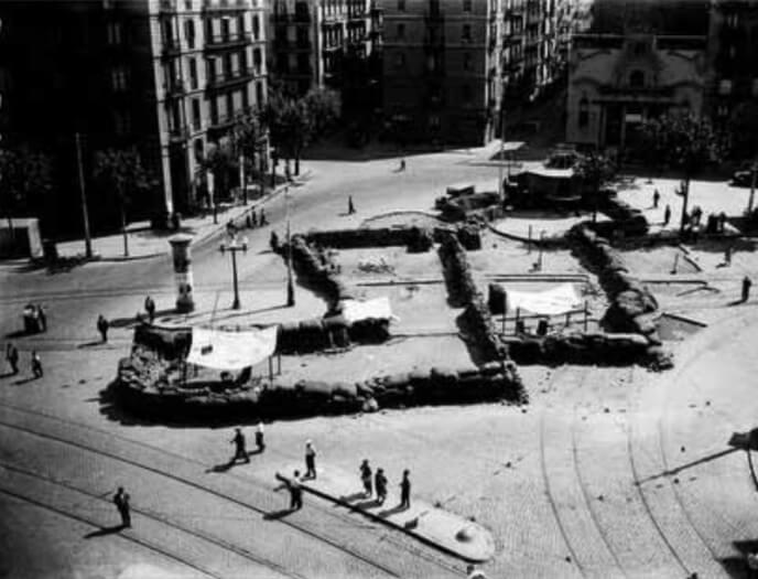 Barricada en la Brecha de San Pablo - Barcelona 1936