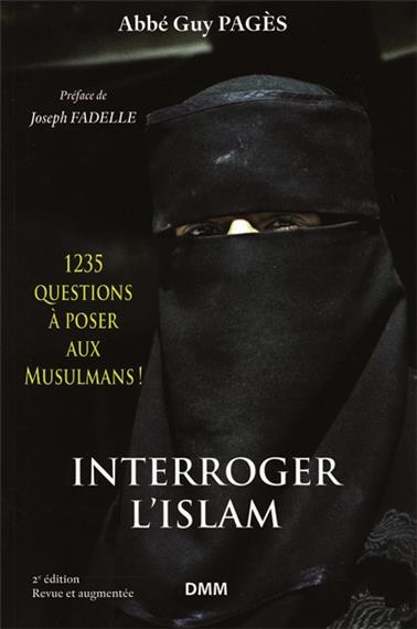 Réimpression de l'excellent livre Interroger l'Islam
