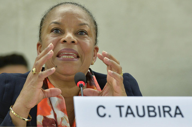 Christiane Taubira, projet de loi langues régionales