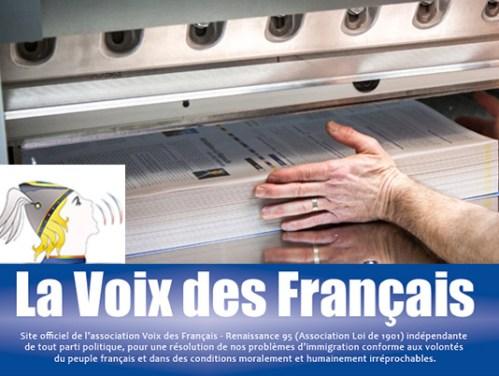 Reparution de la revue : La Voix des Français
