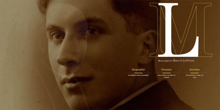 Un nouveau site sur Mgr Lefebvre