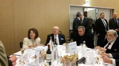 Table de Jean Marie Le Pen