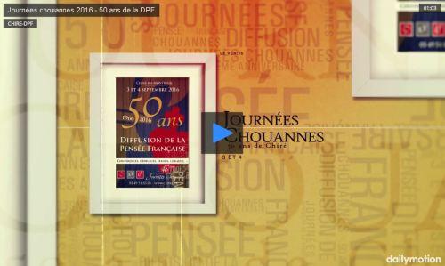 Vidéo : Journées Chouannes 2016, 50 ans de Chiré