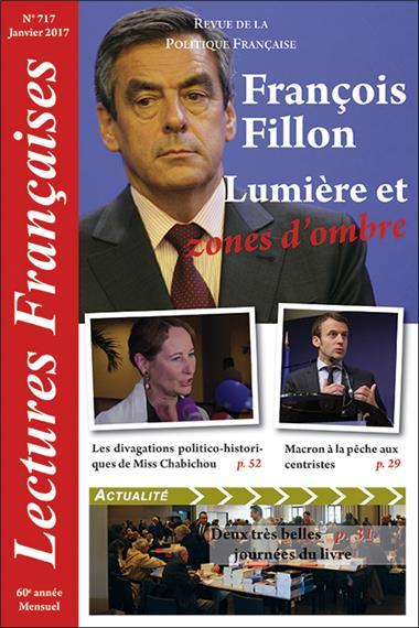 N° 717 – Janvier 2017 : François Fillon, lumière et zones d´ombre