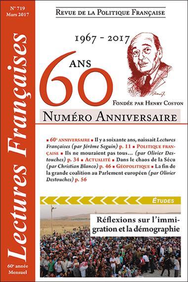 Lectures Françaises fête ses 60 ans