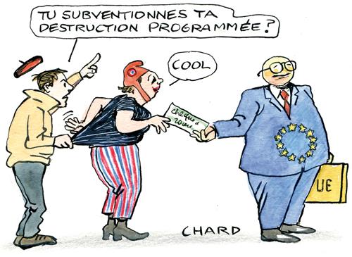 10 % de plus pour le budget européen !