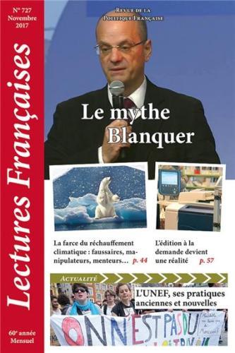 N° 727 – novembre 2017 : Le mythe Blanquer
