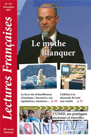N° 727 – novembre 2017 : Le mythe Blanquer