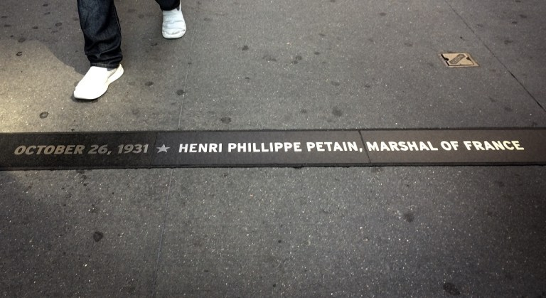 Le Maréchal Pétain à New York !