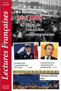 N° 733 – Mai 2018 : Mai 1968, mère de l'anarchie contemporaine